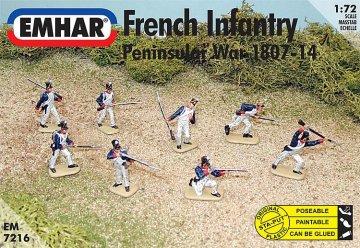 Französische Infanterie · EM 937216 ·  Emhar · 1:72