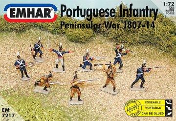 Portugiesische Infanteri · EM 937217 ·  Emhar · 1:72