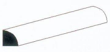 Viertelrundstange, 35 cm lang,Durchm. 0,75 mm, 5 Stück · EV 500246 ·  Evergreen
