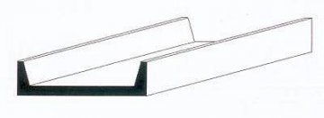 U-Profil, 350x2,0x0,97 mm, 4 Stück · EV 500262 ·  Evergreen