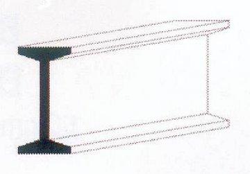 I-Profil aus weißem Polystyrol, 350x4,0X2,0 mm - 5/32, 3 Stück · EV 500275 ·  Evergreen
