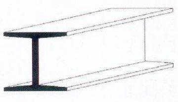H-Profil aus weißem Polystyrol, 350x4,8x4,4 mm - 3/16, 3 Stück · EV 500286 ·  Evergreen