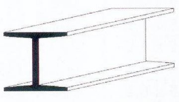 H-Profil aus weißem Polystyrol, 350x6,3x6,0 mm - 1/4, 2 Stück · EV 500287 ·  Evergreen