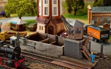 Kleines Bahnbetriebswerk · FAL 120128 ·  Faller · H0