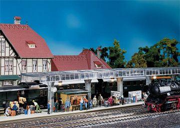 Bahnsteig mit Kiosk · FAL 120188 ·  Faller · H0