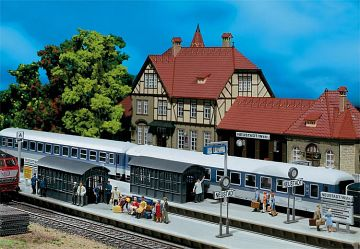 Bahnsteigverlängerung · FAL 120203 ·  Faller · H0