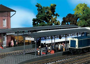 2 Bahnsteige · FAL 120204 ·  Faller · H0