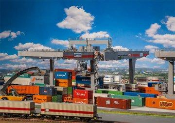 Containerbrücke · FAL 120290 ·  Faller · H0