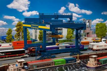 Containerbrücke GVZ Hafen Nürnberg · FAL 120291 ·  Faller · H0