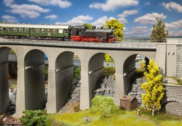 Viadukt-Set, 2-gleisig · FAL 120465 ·  Faller · H0
