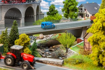 Straßenbrücke                 · FAL 120499 ·  Faller · H0