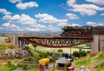 Fischbauchbrücke · FAL 120503 ·  Faller · H0
