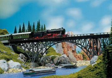 Stahlträgerbrücke · FAL 120541 ·  Faller · H0
