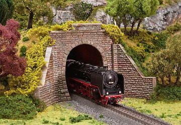 Tunnelportal für Dampf- und Oberleitungsbetrieb · FAL 120559 ·  Faller · H0