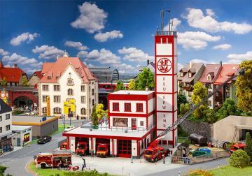 Moderne Feuerwache · FAL 130159 ·  Faller · H0