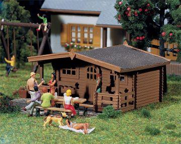 3 Gartenhäuser · FAL 130208 ·  Faller · H0