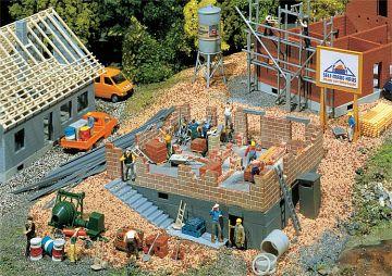 Haus im Bau · FAL 130307 ·  Faller · H0
