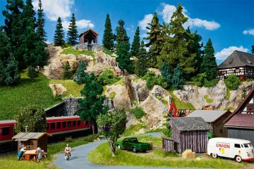 Materialseilbahn · FAL 130323 ·  Faller · H0