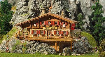 Hochgebirgshütte Moser-Hütte · FAL 130329 ·  Faller · H0