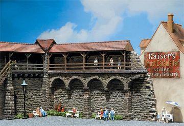 Altstadtmauer · FAL 130404 ·  Faller · H0