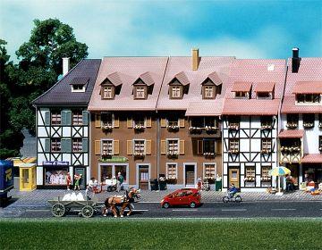 2 Reliefhäuser · FAL 130432 ·  Faller · H0