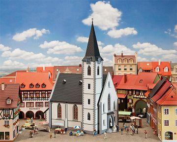 Kleinstadtkirche · FAL 130490 ·  Faller · H0