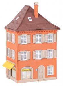 Eckhaus mit Post · FAL 130617 ·  Faller · H0