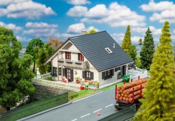 Saniertes Einfamilienhaus · FAL 130640 ·  Faller · H0