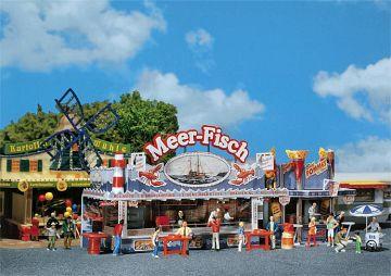 Kirmesbude Meer-Fisch · FAL 140445 ·  Faller · H0