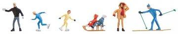 Winterfiguren · FAL 150913 ·  Faller · H0