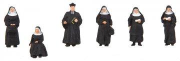 Nonnen und Pfarrer · FAL 150942 ·  Faller · H0