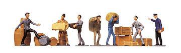 Transportarbeiter mit Ladegut · FAL 151001 ·  Faller · H0