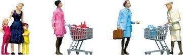 Im Supermarkt/Einkaufswagen · FAL 151035 ·  Faller · H0