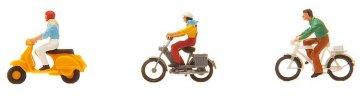 Fahrrad- und Mopedfahrer · FAL 151079 ·  Faller · H0