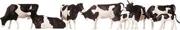 Kühe, schwarz gefleckt · FAL 154003 ·  Faller · H0