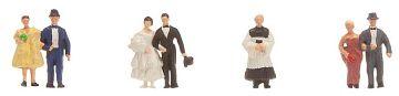 Brautpaar mit Pfarrer · FAL 155330 ·  Faller · N