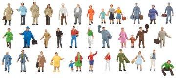 Ergänzungs-Set mit 36 Figuren · FAL 155358 ·  Faller · N