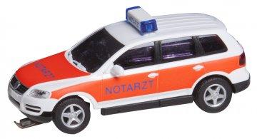 VW Touareg Notarzt (WIKING) · FAL 161559 ·  Faller · H0