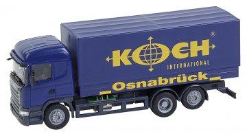 LKW Scania R 13 HL Koch (HERPA) · FAL 161595 ·  Faller · H0