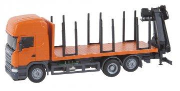 Scania R13 Kurzholz LKW (HERPA) · FAL 161634 ·  Faller · H0
