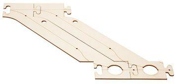 Laser-Street Parkharfe Ergänzung · FAL 161943 ·  Faller · H0