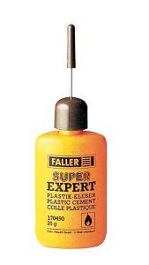 SUPER-EXPERT, Plastikkleber, 25 g · FAL 170490 ·  Faller