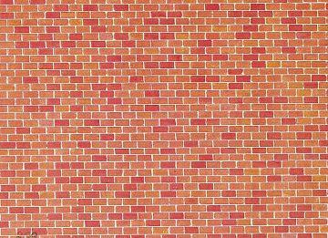 Mauerplatte, Backstein · FAL 170608 ·  Faller · H0