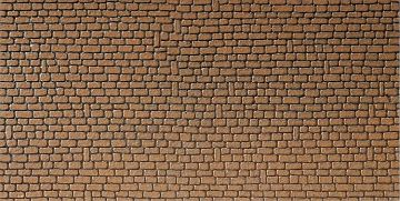 Mauerplatte, Sandstein, rot · FAL 170611 ·  Faller · H0