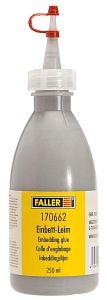 Einbett-Leim, schottergrau, 250 ml · FAL 170662 ·  Faller