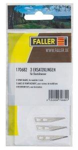 3 Ersatzklingen für Bastelmesser · FAL 170682 ·  Faller