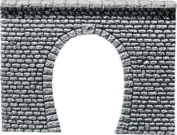 Dekorplatte Tunnelportal Profi, Naturstein Quader · FAL 170880 ·  Faller · H0