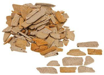 Naturstein, Bruchsteine, ocker, 350 g · FAL 170909 ·  Faller