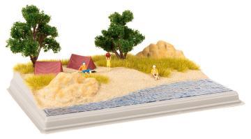 Mini-Diorama Strand · FAL 180050 ·  Faller · H0