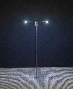 LED-Straßenbeleuchtung, Doppelausleger · FAL 180203 ·  Faller · H0